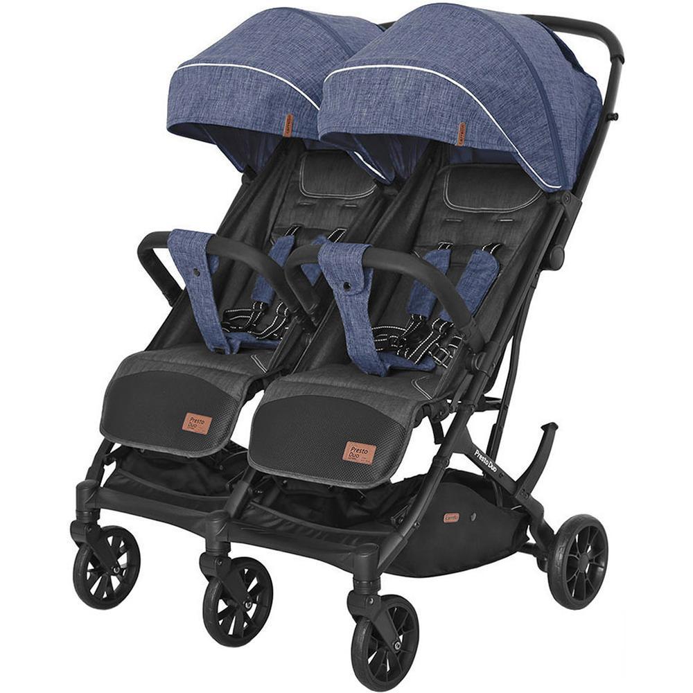 Купить 6900090000260, Коляска для двойни прогулочная Carrello CRL-5506 Presto Duo Oxford Blue,