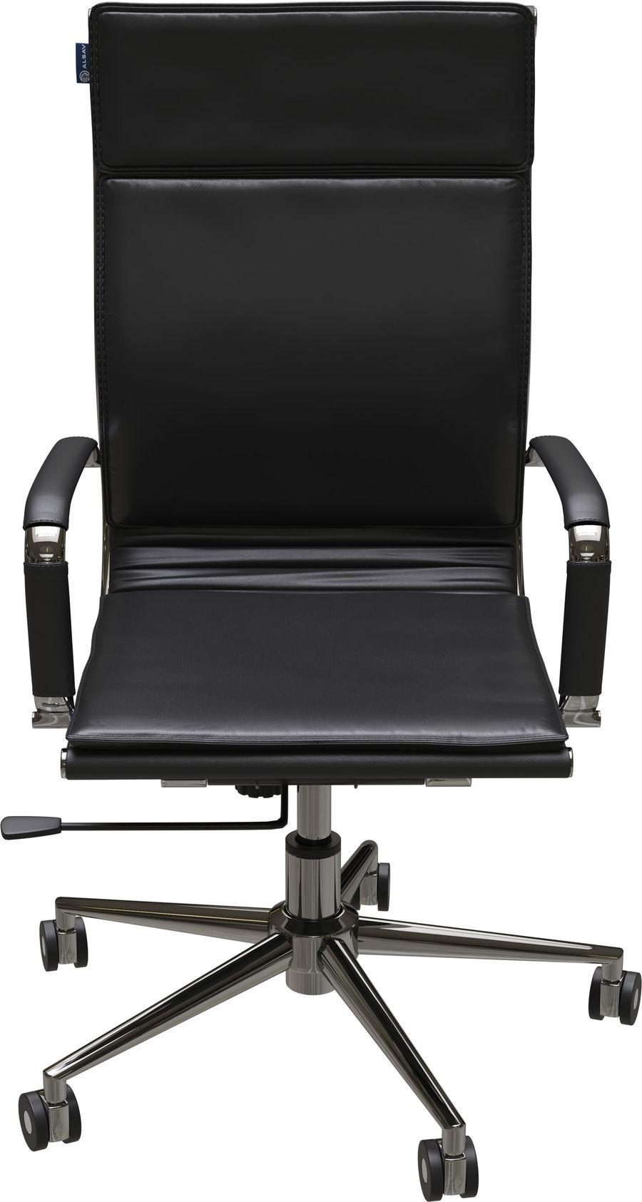 Кресло руководителя Alsav Array AL 771 Экокожа черная