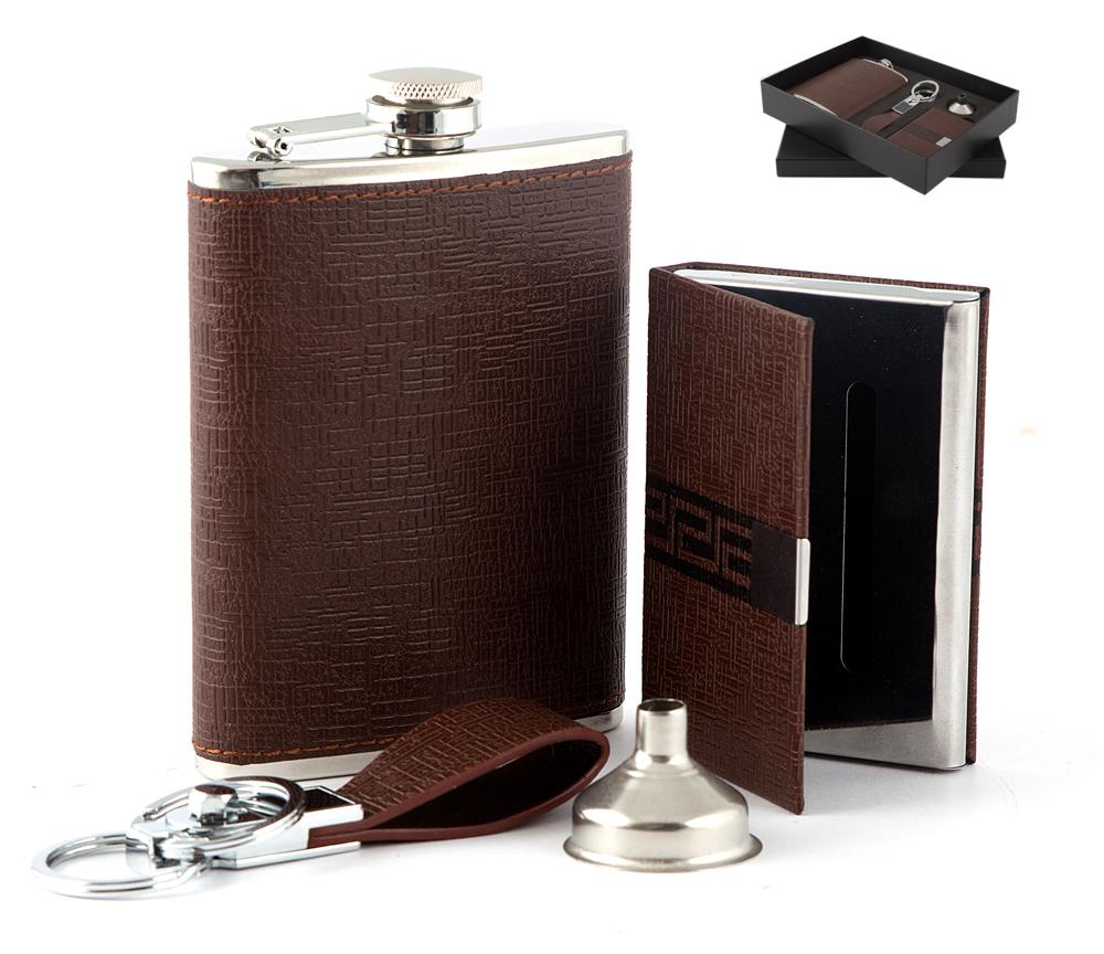 Фляга Русские подарки 46053 230 л коричневая
