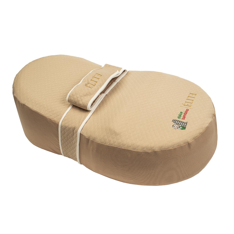 Купить Кокон для новорожденных dolce bambino ELITE цвет Бежевый,