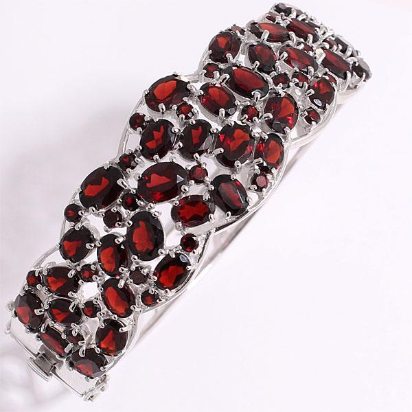 Браслет из серебра с гранатом Balex Jewellery 7405933912