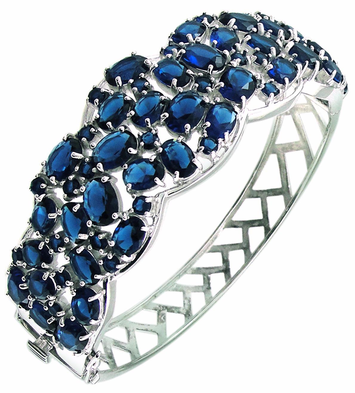 Браслет из серебра с сапфиром Balex Jewellery 7405937312