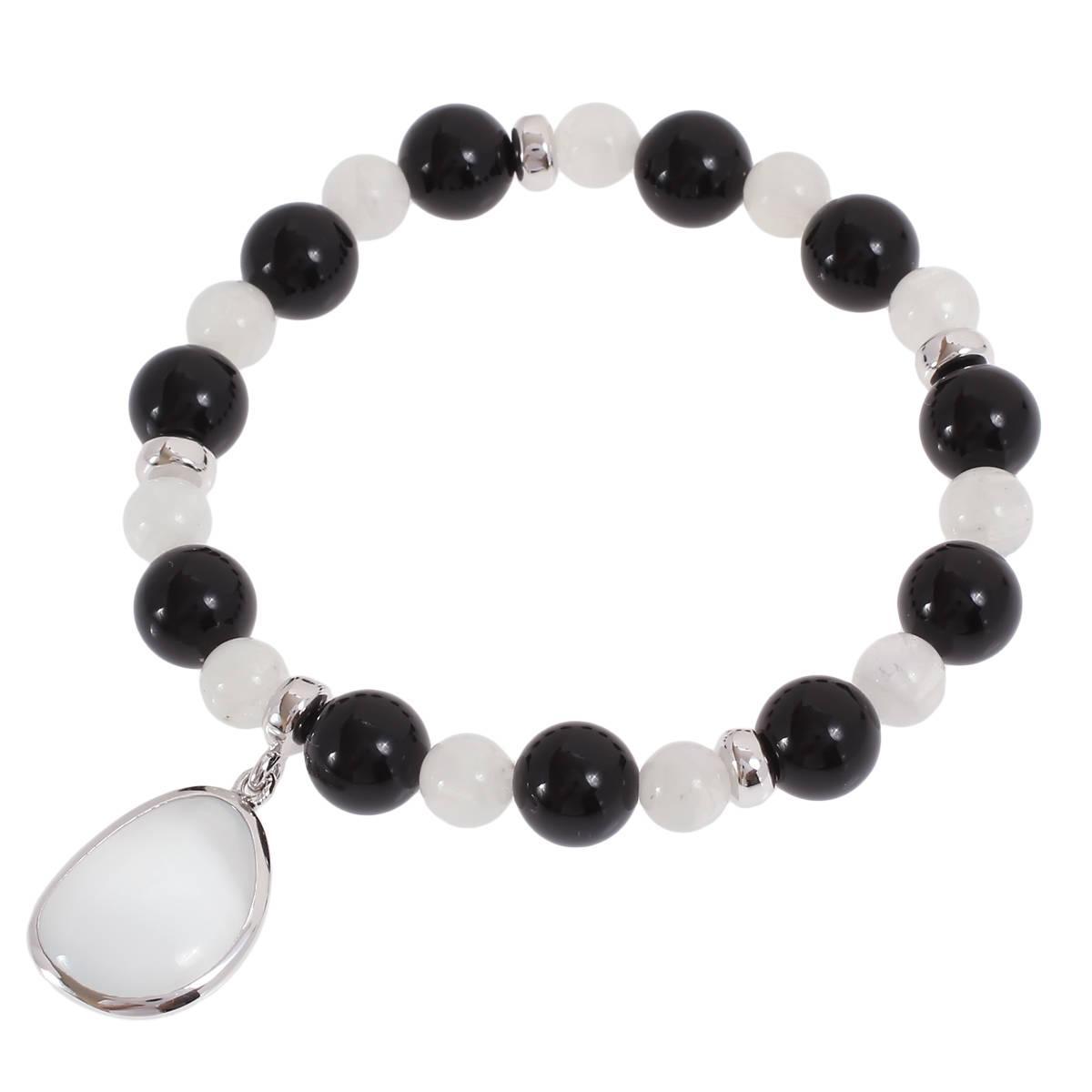Браслет из серебра с ониксом Balex Jewellery 7432930126