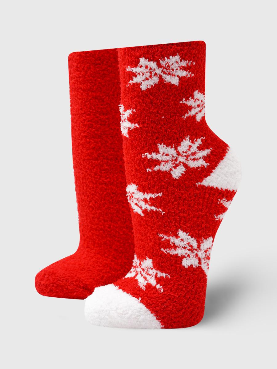 Набор носков женских ТВОЕ A6857 красных 35-41
