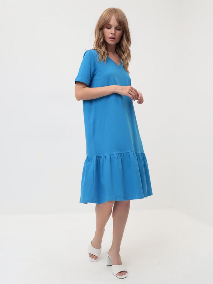 Платье женское LIOLI UPL100805CITY голубое 50 RU