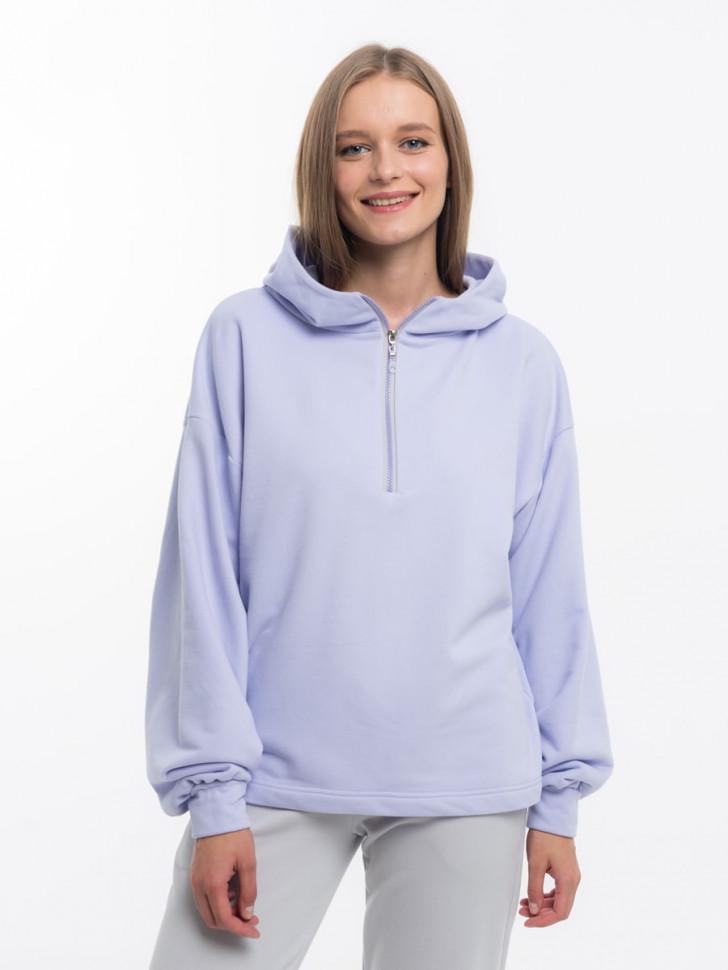 Худи женское LIOLI UHD110609Sunrise фиолетовое 50 RU