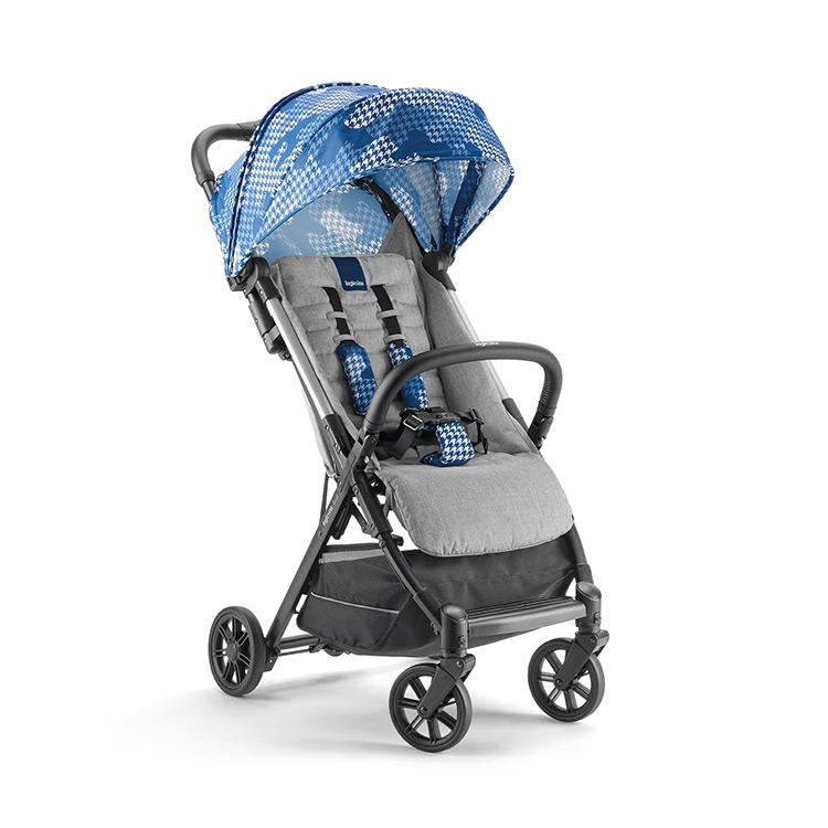 Купить Quid 2, Прогулочная коляска Inglesina Quid2 с накидкой на ножки Sparkling Blue,