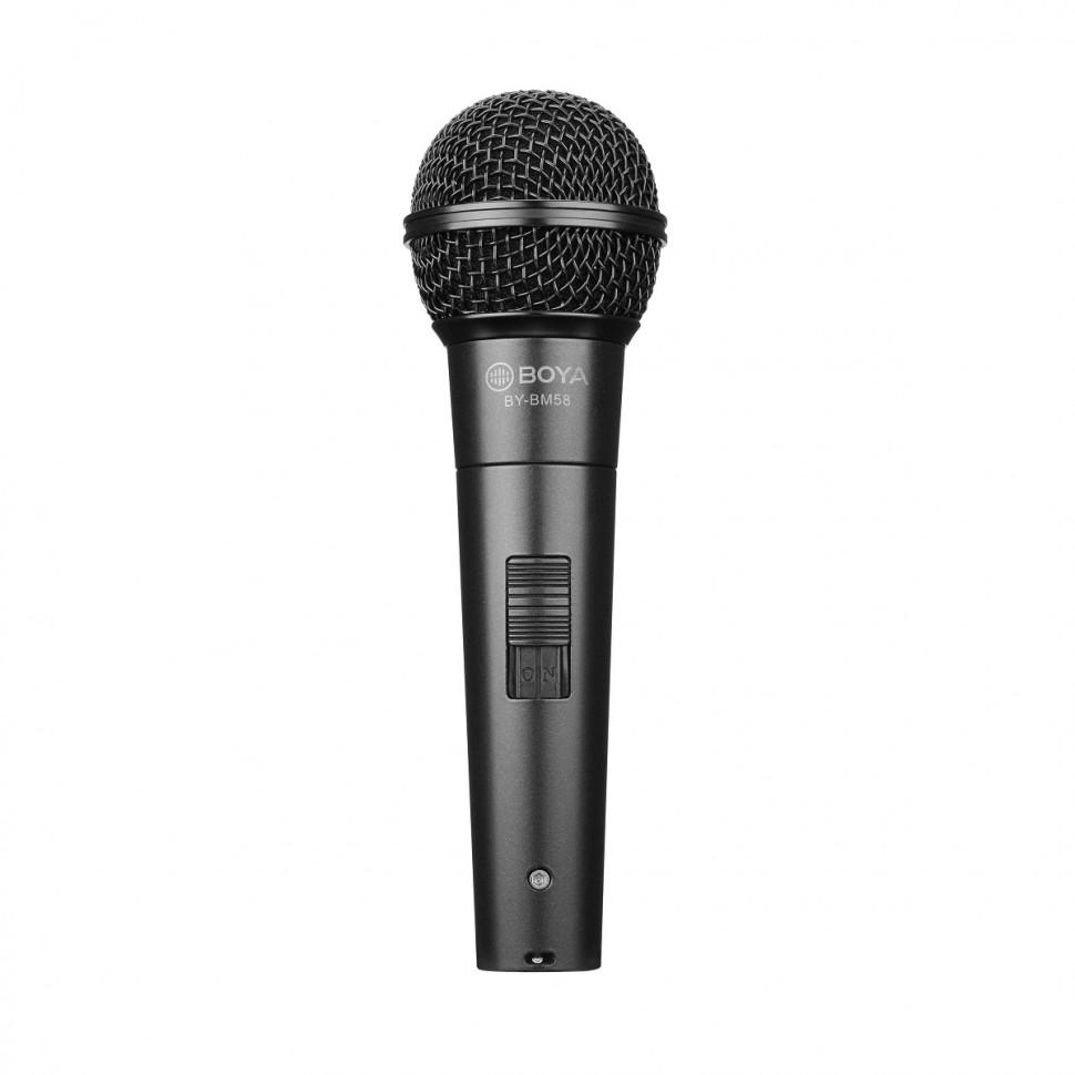 Микрофоны Boya BY-BM58 Black