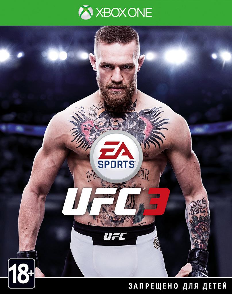 Игра UFC 3 (Нет пленки на коробке)
