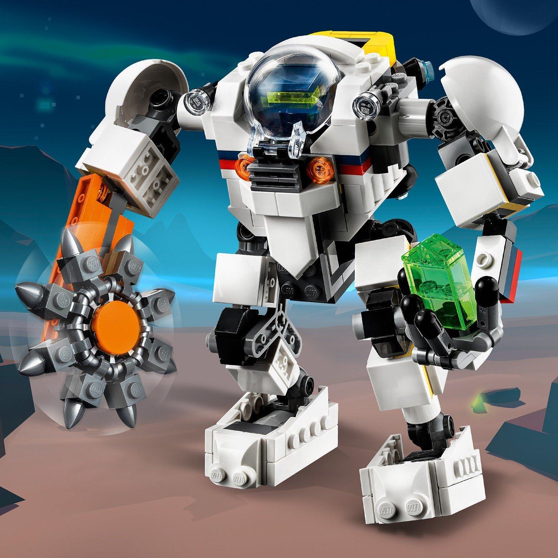Купить Конструктор LEGO Creator 31115 Космический робот для горных работ,