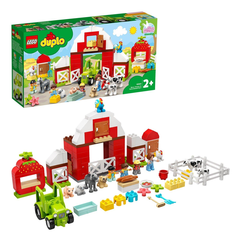 Конструктор LEGO DUPLO Town 10952 Фермерский трактор,