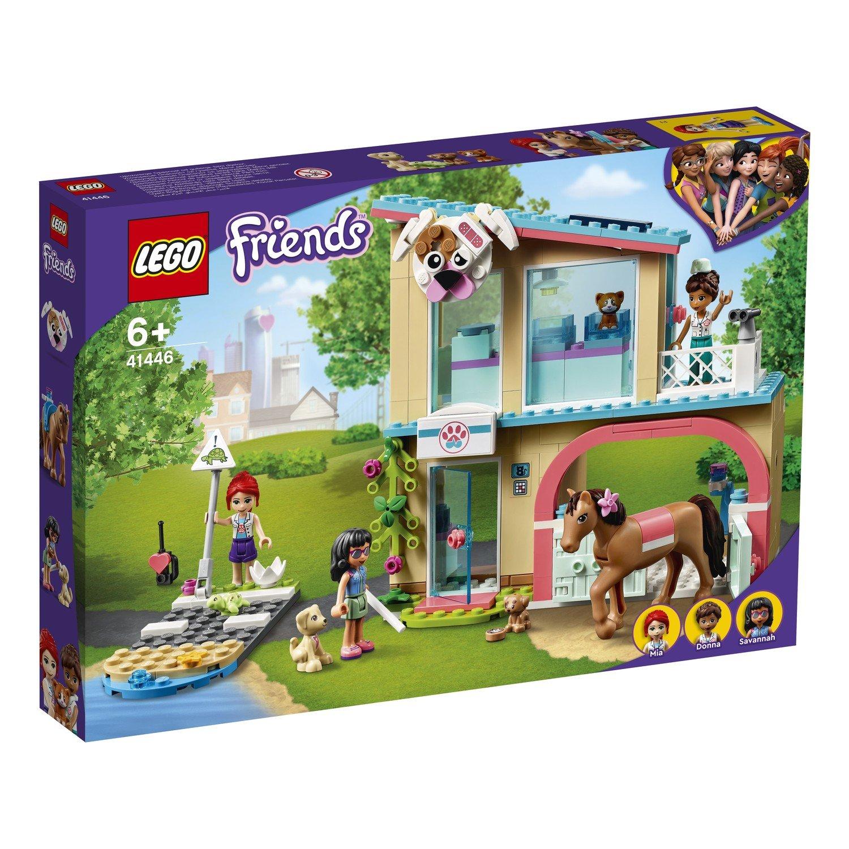 Купить Конструктор LEGO Friends 41446 Ветеринарная клиника Хартлейк-Сити,