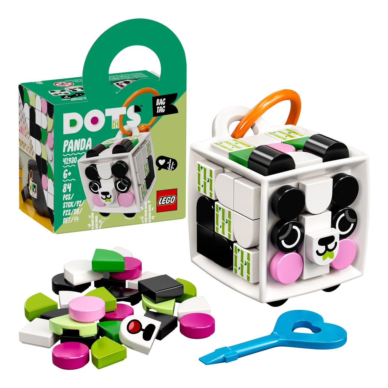 Купить Набор для творчества LEGO DOTS 41930 Брелок «Панда»,