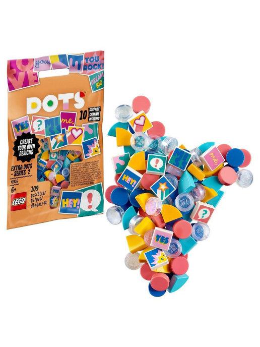 Купить Набор для творчества LEGO DOTS 41931 Тайлы DOTS — серия 4,
