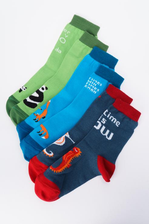 Набор носков женских big bang socks box3a1112 разноцветных 35-39