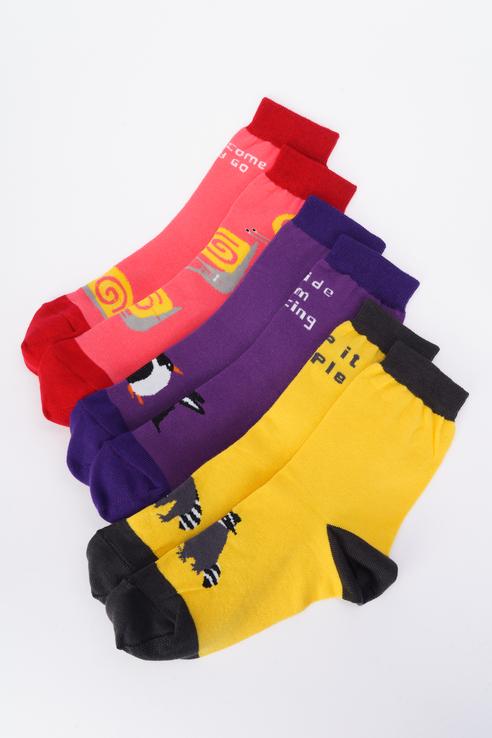 Набор носков женских big bang socks box3a1312 разноцветных 35-39