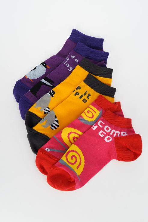 Набор носков женских big bang socks box3a1322 разноцветных 35-39