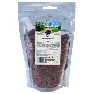 Купить Лен коричневый (семена) Русские корни 250 г