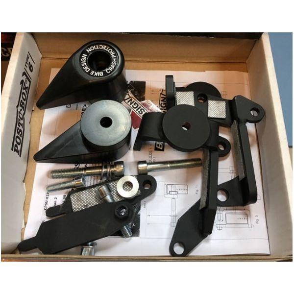 Слайдеры BikeDesign CPSU 026T B для мотоциклов