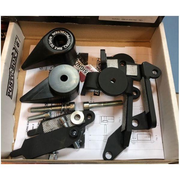 Слайдеры BikeDesign CPYA 020T B для мотоциклов