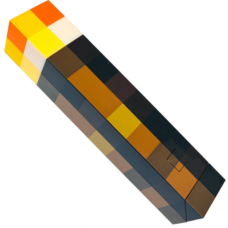 Факел пиксельный из Майнкрафт