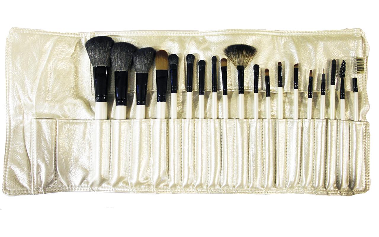 Купить Профессиональный набор кистей для макияжа из натурального ворса. 19 шт., Make up brush