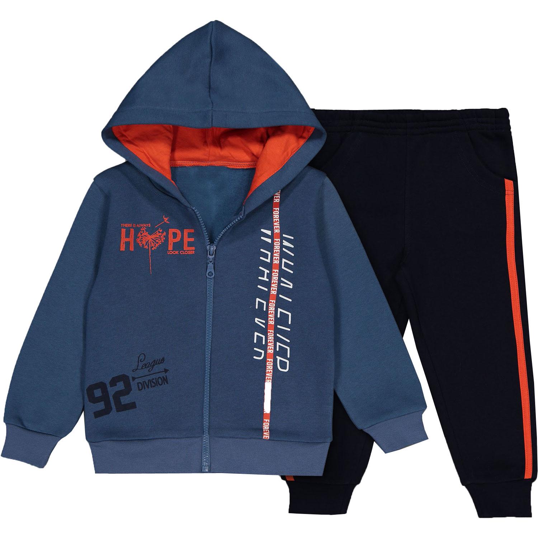 Купить Спортивный костюм синий, 110 см, 5 лет, арт. 20511, Папитто,