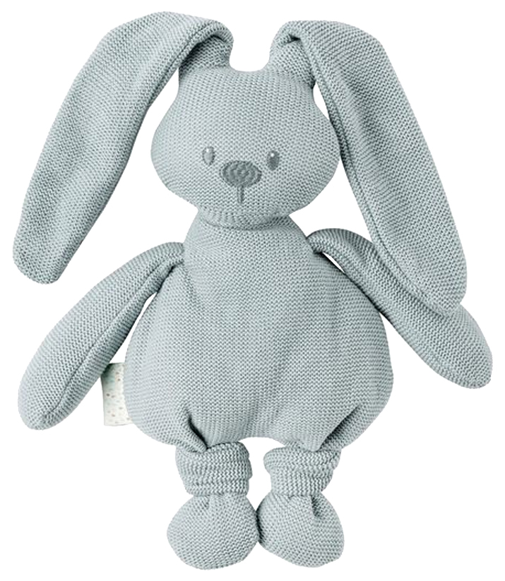 Купить Игрушка мягкая Nattou Soft toy Lapidou tricot Кролик coppergreen,