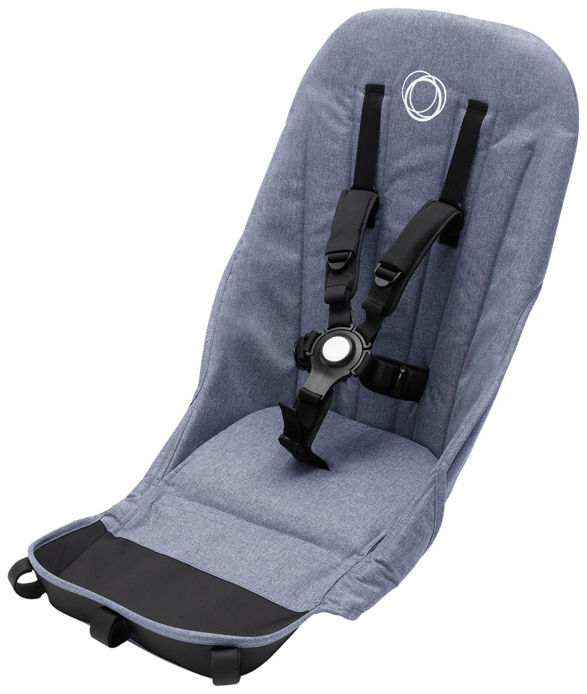 Купить Ткань основы сиденья для коляски Bugaboo Donkey3 duo fabric set GREY MELANGE 180118GM03,