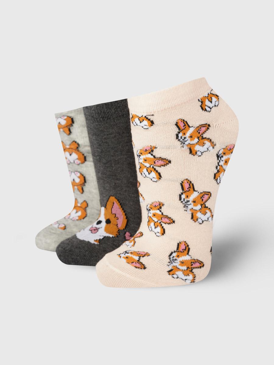 Набор носков женский ТВОЕ A8027 разноцветный 35-41