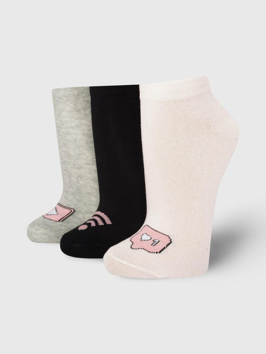 Набор носков женский ТВОЕ A8029 разноцветный 35-41