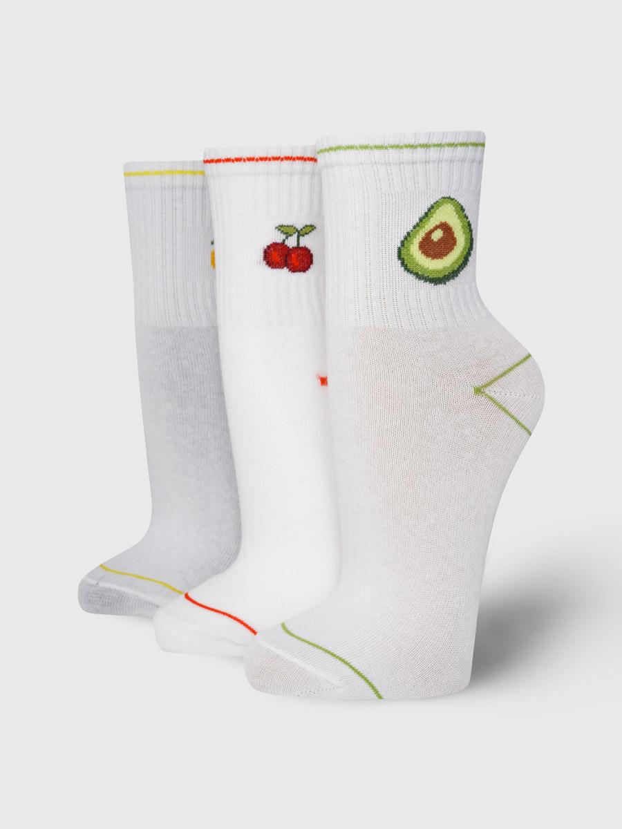 Набор носков женский ТВОЕ A8037 белый 35-41
