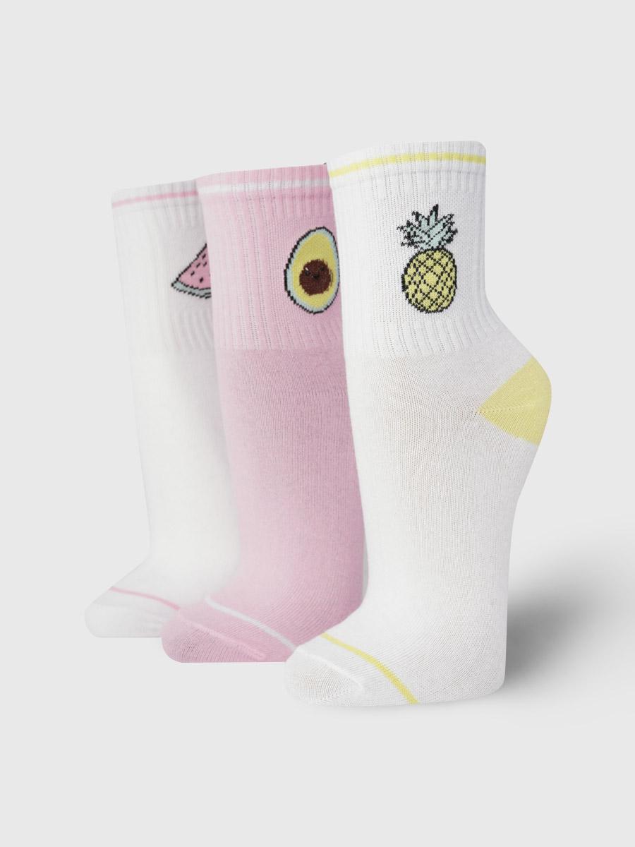 Набор носков женский ТВОЕ A8042 разноцветный 35-41