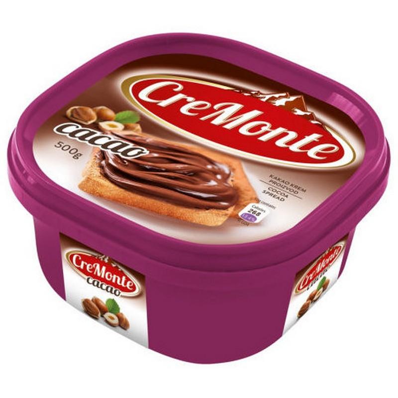 """Паста ореховая CreMonte """"Какао"""", с добавлением какао, 500 г"""