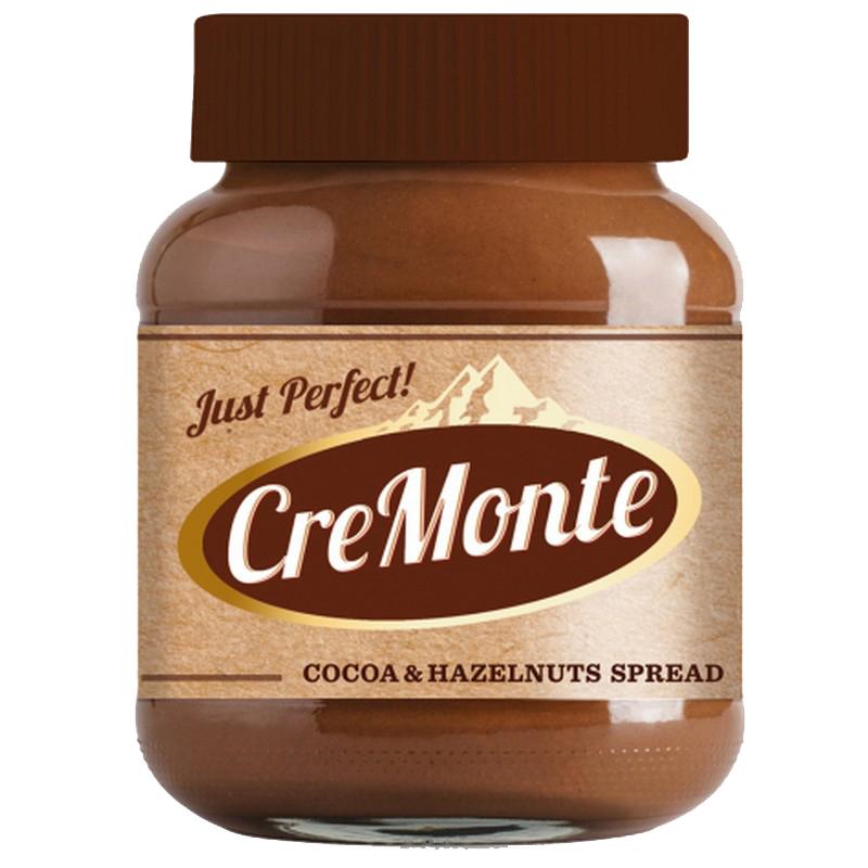 """Паста  ореховая CreMonte """"Какао   13% орехов"""", с добавлением какао, 400 г"""