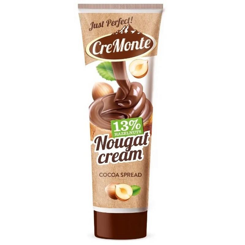 """Паста ореховая CreMonte """"Какао   13% орехов"""", с добавлением какао, 350 г"""