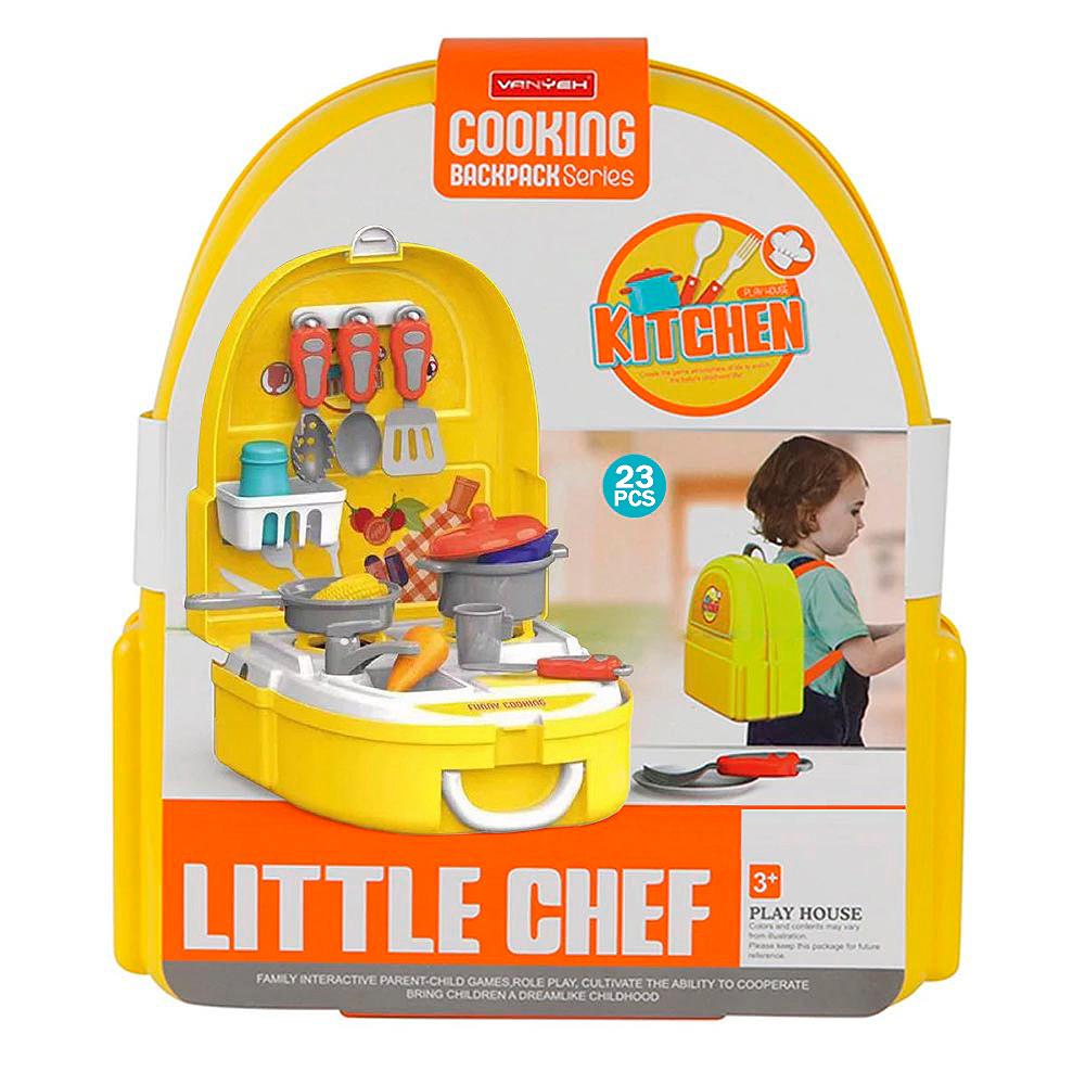 Купить Игровой набор Повар в рюкзачке (2167-7), Bondibon, Детская кухня