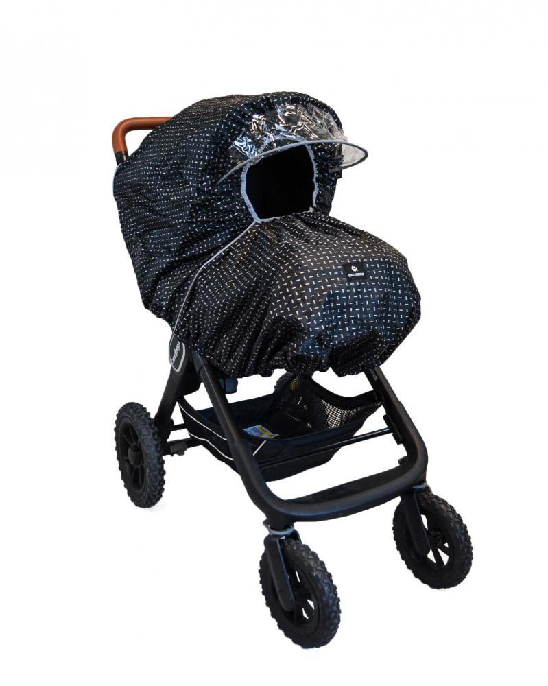 Easygrow дождевик для коляски универсальный reflex stroke 1024023