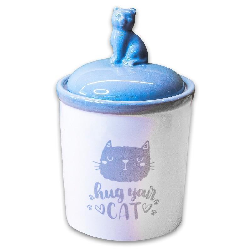 Контейнер для корма КерамикАрт Hug your cat,