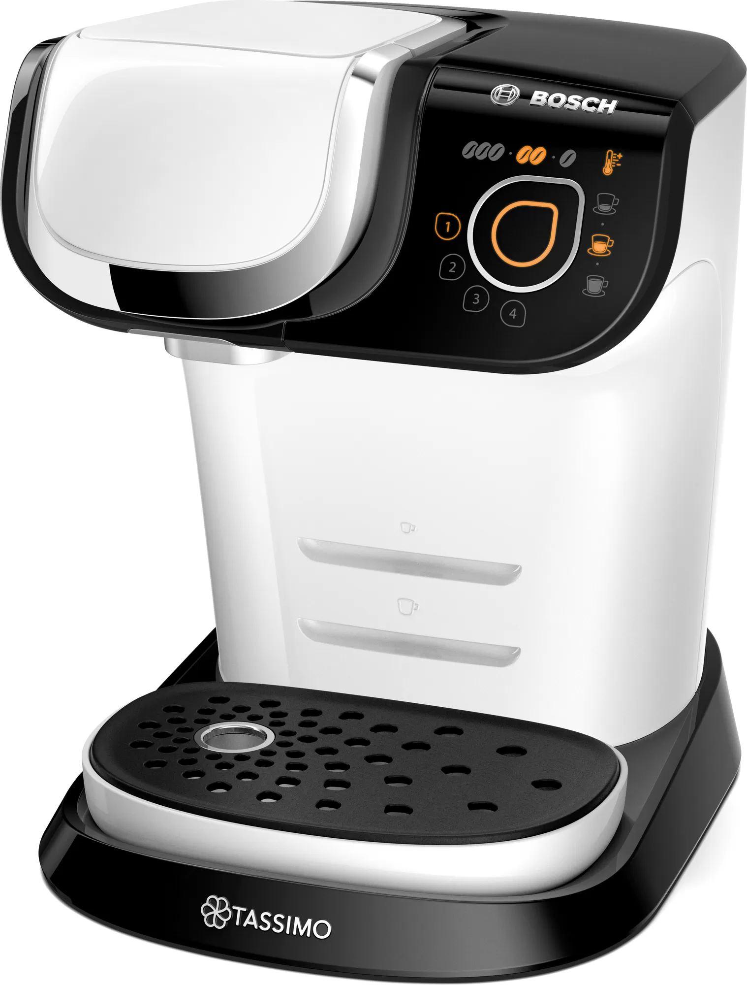 Кофемашина капсульного типа Bosch Tassimo TAS6504 White