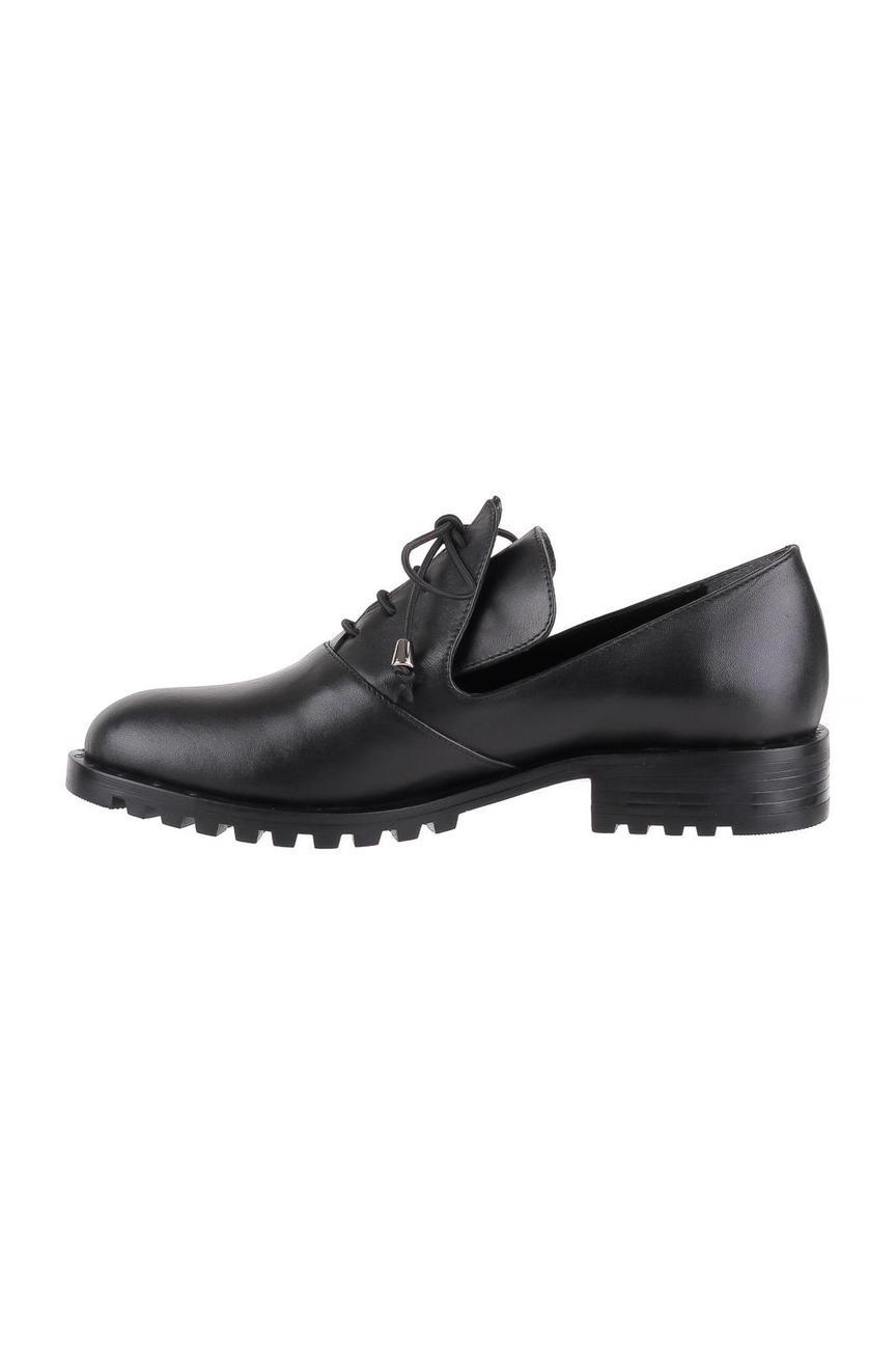Полуботинки женские Shoes Market O1944 черные 38 RU