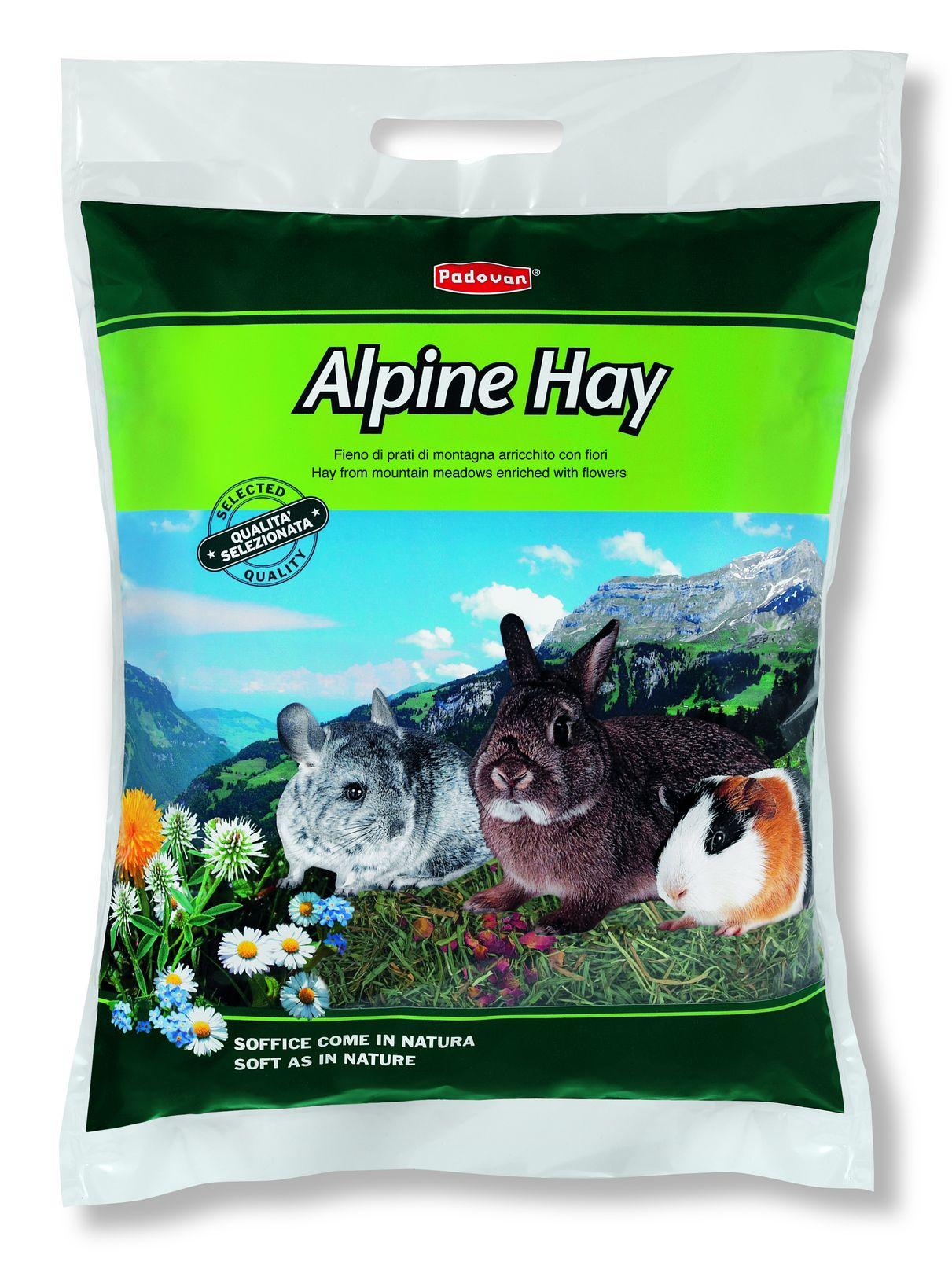 Сено для кроликов Padovan Alpine Hay