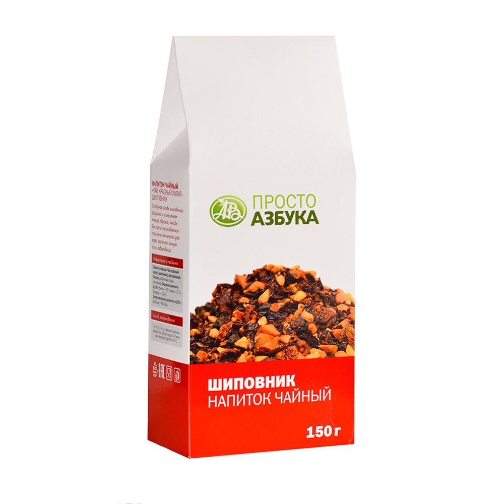 Чай фруктовый шиповник Просто Азбука 150 г фото