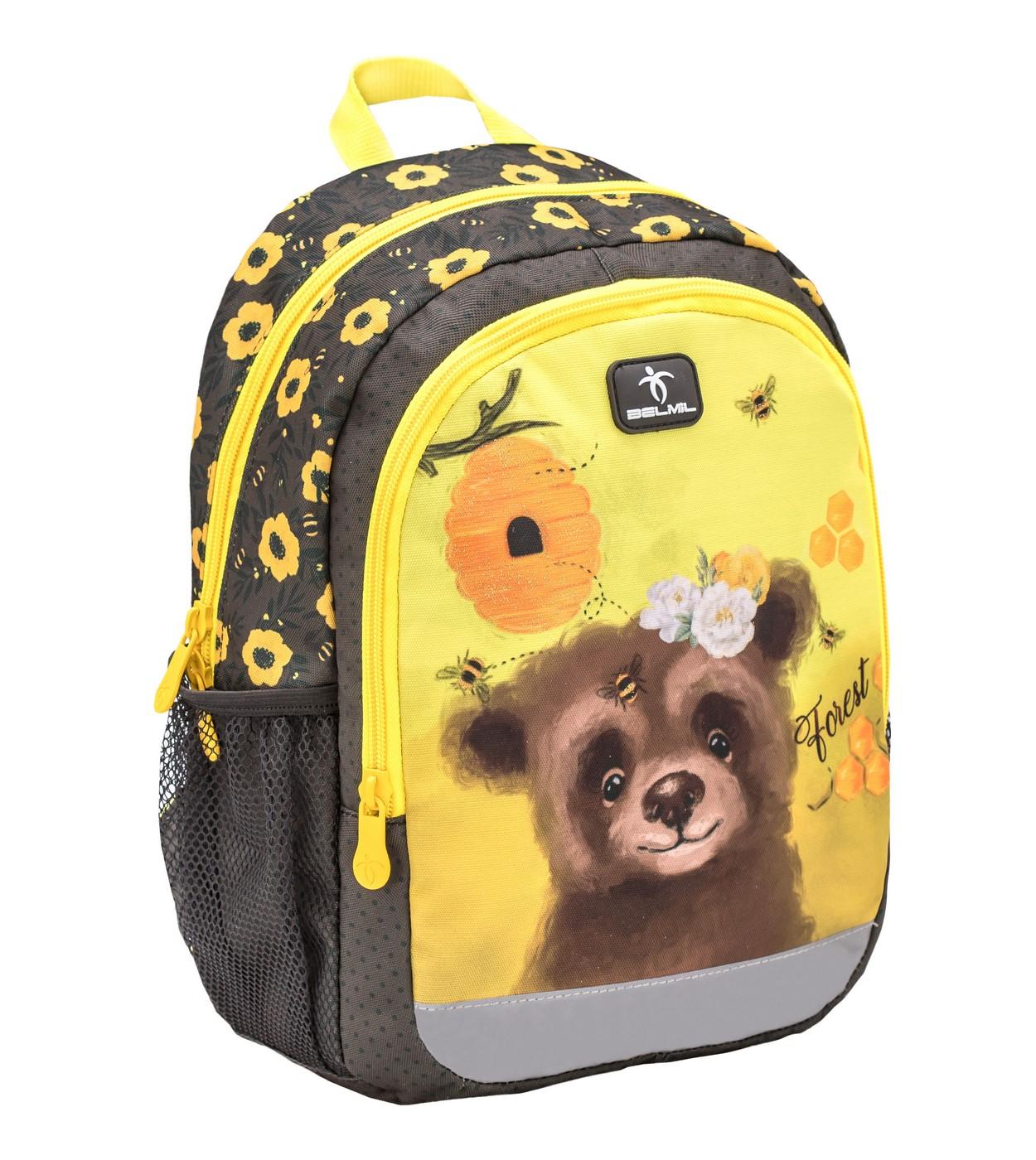 Рюкзак детский Belmil Kiddy Plus Мишка
