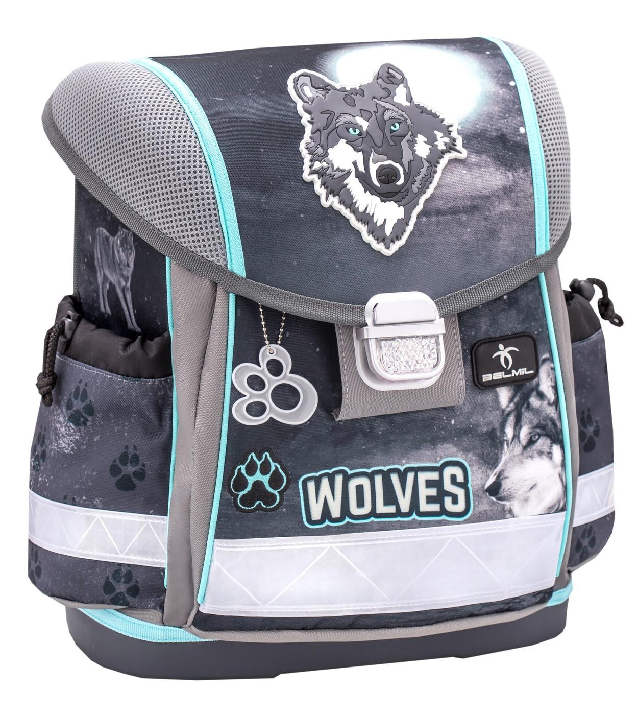 Купить Ранец детский Belmil Classy - Wolf,