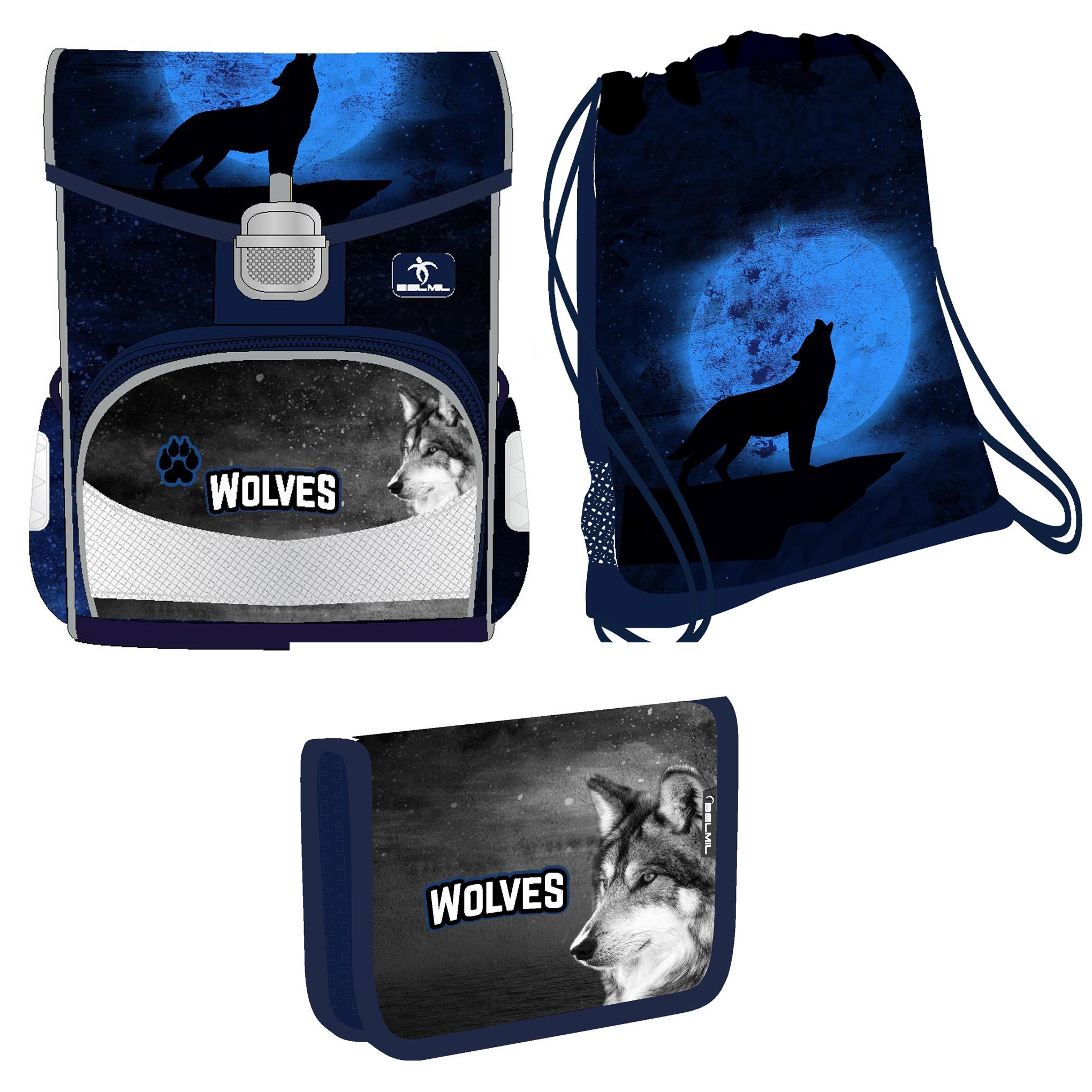 Ранец Belmil Click   Wolves