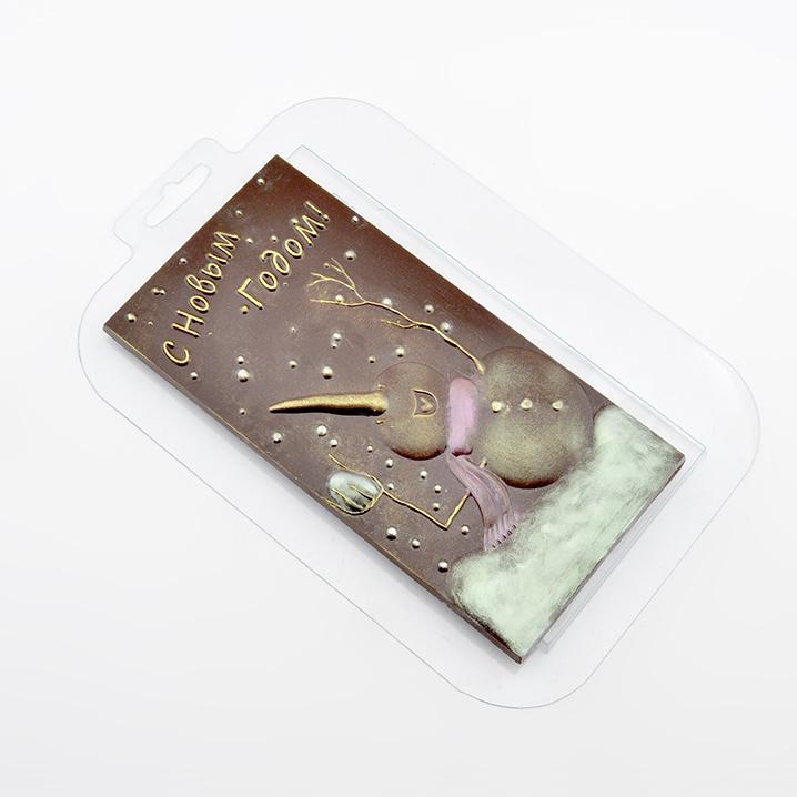 Молд для шоколада мастики С Новым годом
