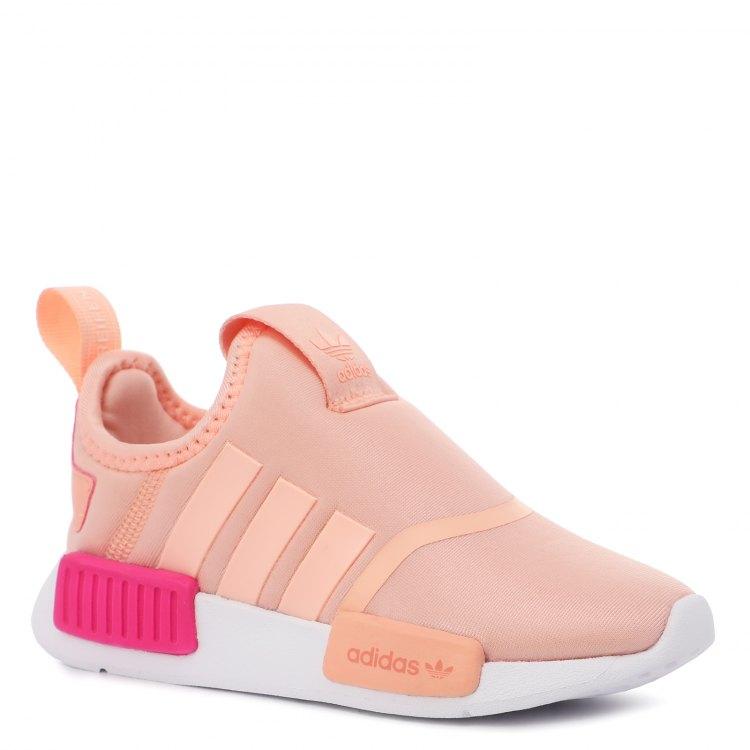 Купить NMD 360_2085047, Кроссовки для девочек Adidas, цв. оранжево-розовый, р.26, Детские кроссовки