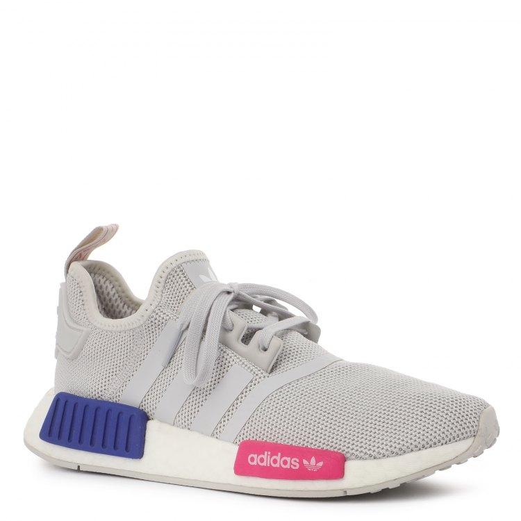 Купить NMD_R1_2085067, Кроссовки для девочек Adidas, цв. светло-серый, р.38, 5, Детские кроссовки