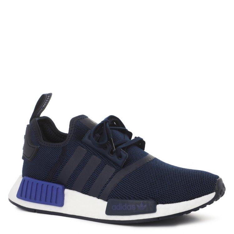 Купить NMD_R1_2085076, Кроссовки для мальчиков Adidas, цв. темно-синий, р.37, 5, Детские кроссовки